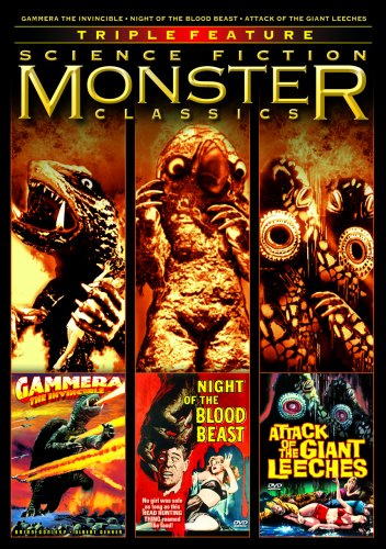 (Science Fiction Monster Classics Triple Feature (Gammera the Invincible / Night of the Blood Beast / Attack of the Giant Leeches))