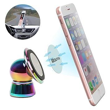 Soporte de Movíl para Coche,Moutik Universal para iPhone 7/6 Smartphone GPS Navegador