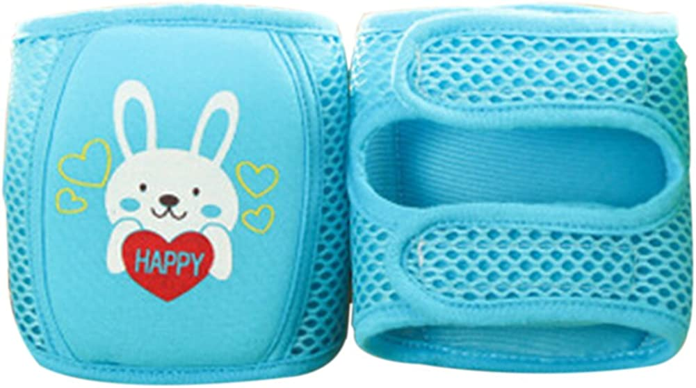 Baby knee Pads Cute Adjustable Breathable Infant Toddler Crawling Pads