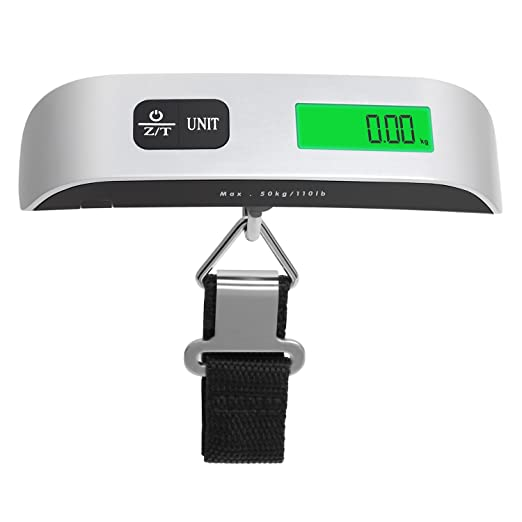 03882a4a833b Amazon.com | Luggage Scale, Kaistyle 110lb/50kg Digital Hanging ...