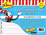 Eureka Cat in the Hat Writing Practice Paper, 100 Sheets (805102) - DISCONTINUED by Manufacturer