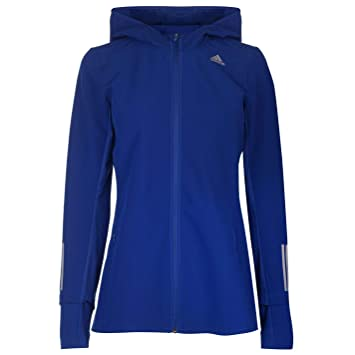 adidas response hooded windjacke damen