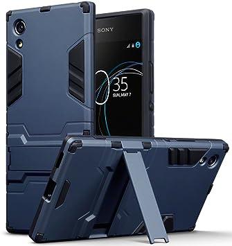 TERRAPIN Sony Xperia XA1 Carcasa Híbrida de Silicona + ...