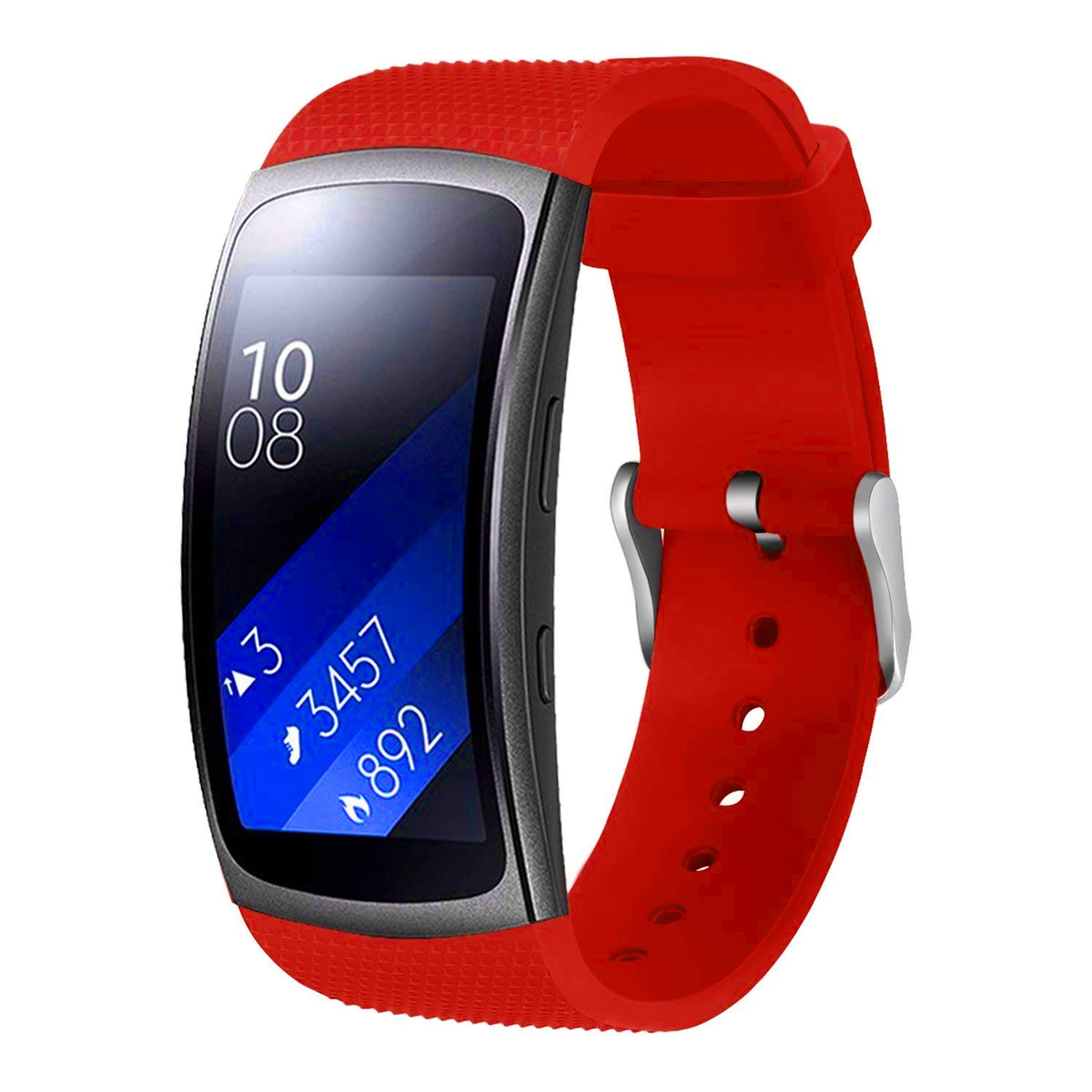 For Samsung Gear Fit2 Pro Watch Band/Samsung Gear Fit2 Band, Replacement Bands Accessories Strap Bracelet for Samsung Gear Fit 2 Pro SM-R365/ Fit 2 ...