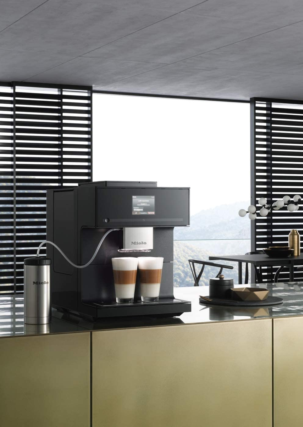 Miele CM 7750 CoffeeSelect bean-to-cup machine, black: Amazon.co.uk:  Kitchen & Home