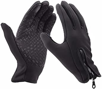 Winter Touch Screen Windproof Waterproof Thermal Leisure Camping Thermal Gloves