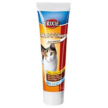 Trixie Anti Bolas Pelo, Malta y Queso, 100 g: Amazon.es: Productos para mascotas