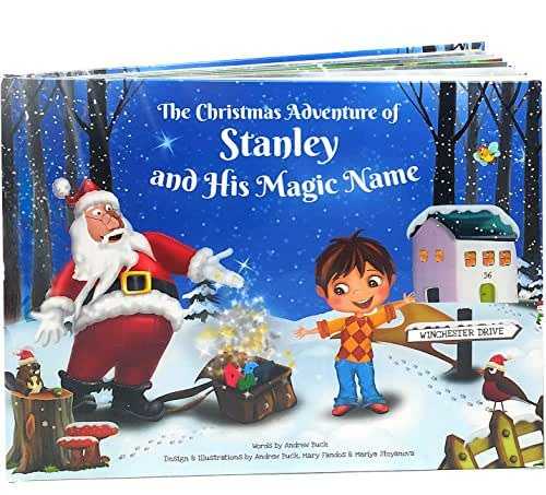 my magic name personalized childrens books