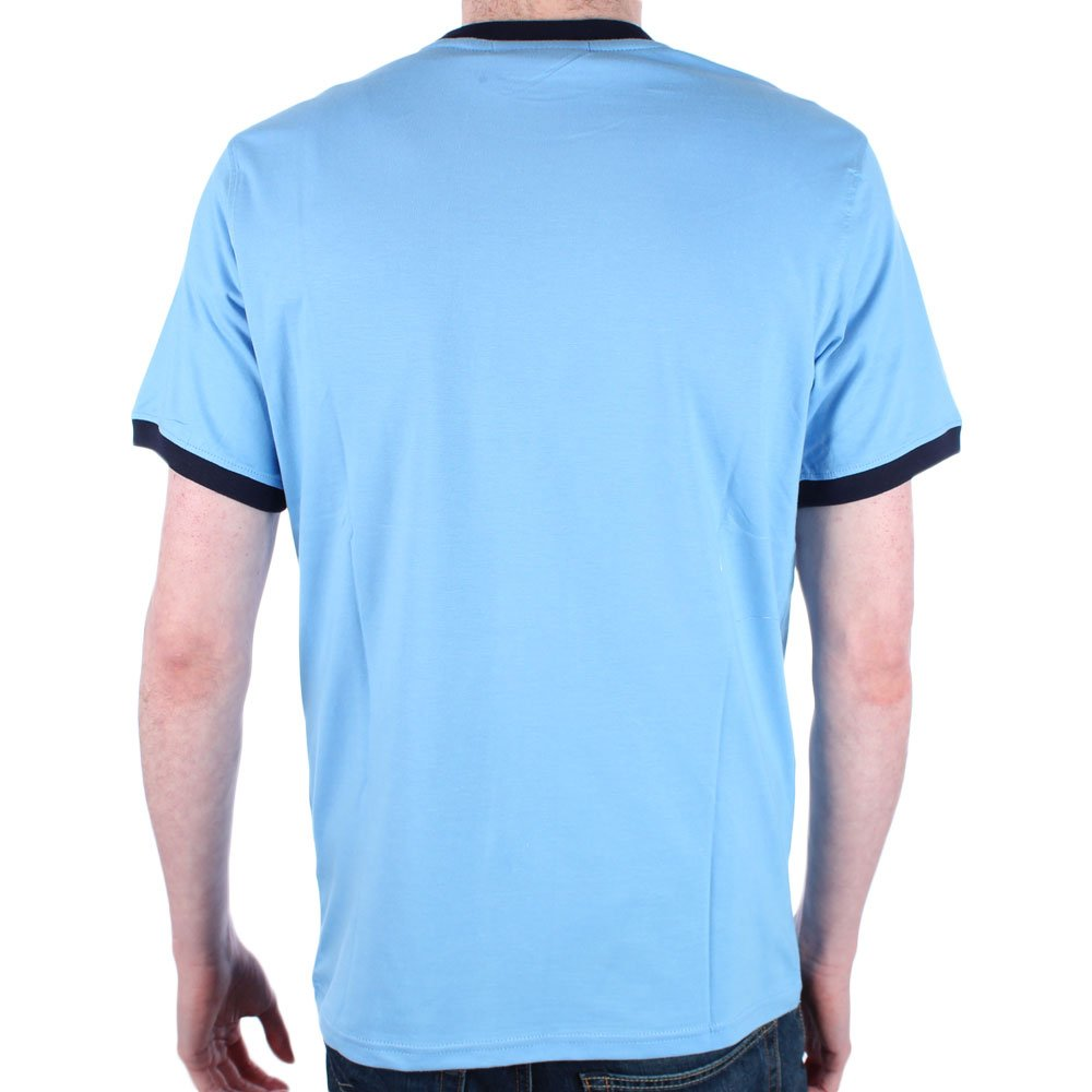 dbbd5b965644 Fila Mens marconi Lake Blue Crew Neck T Shirt - M: Amazon.co.uk: Clothing