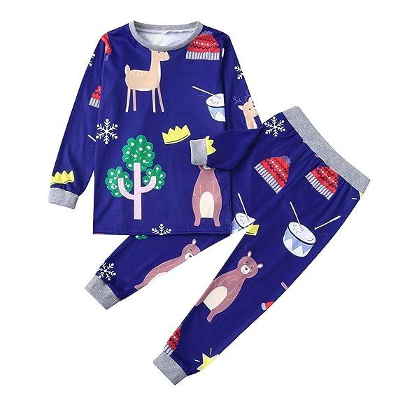 POLP Niño Navidad Mono Ropa niñas Unisex casa Pijama Bebe Navidad ...