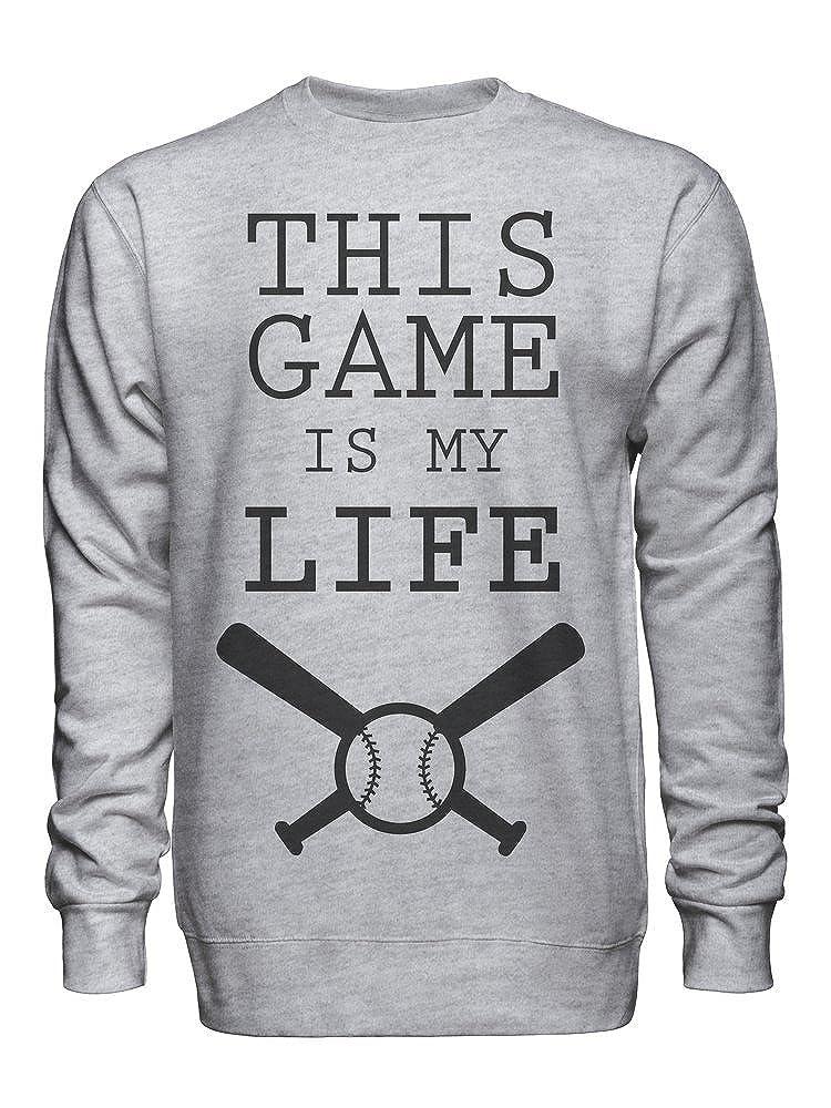 This Game is My Life Unisex Crew Neck Sweatshirt