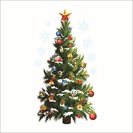 Genial DaGou Christmas Tree Wall Stickers Wall Murals, Removable Art Wall Decals  For Home Decoration