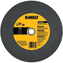 "DEWALT DW8035 20mm Asphalt Port Cut-Off Wheel, 14"" X 1/8"""