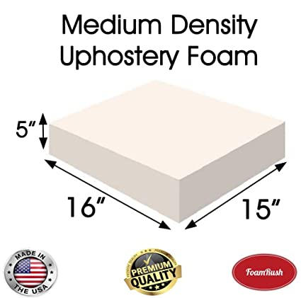 Superb Amazon Com Foamrush 5 H X 15 W X 16 L Upholstery Foam Ocoug Best Dining Table And Chair Ideas Images Ocougorg