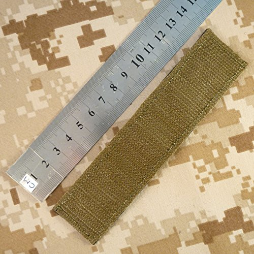 2AFTER1 US Navy USN Name Tape Olive Drab OD Green Embroidery Military Fastener Patch 3