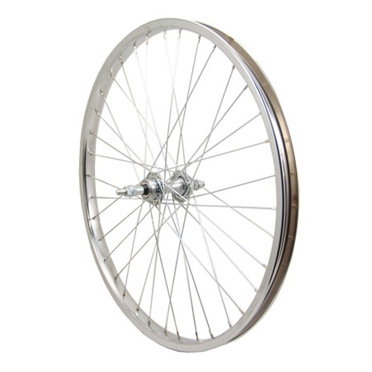 Sta Tru Steel 6-7 Speed Freewheel Hub Rear Wheel (24X1.75-Inch)