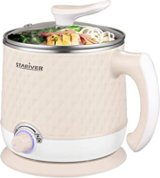 Stariver Electric 1.8L Multi-Functional Mini Hot Pot