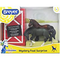 Breyer Mystery Foal Surprise Horse Box Toy | 1:32 Scale | Model #5938