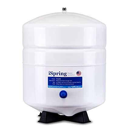 Ispring t32m 4 gallon residential pre pressurized water storage tank ispring t32m 4 gallon residential pre pressurized water storage tank for reverse osmosis ro publicscrutiny Image collections