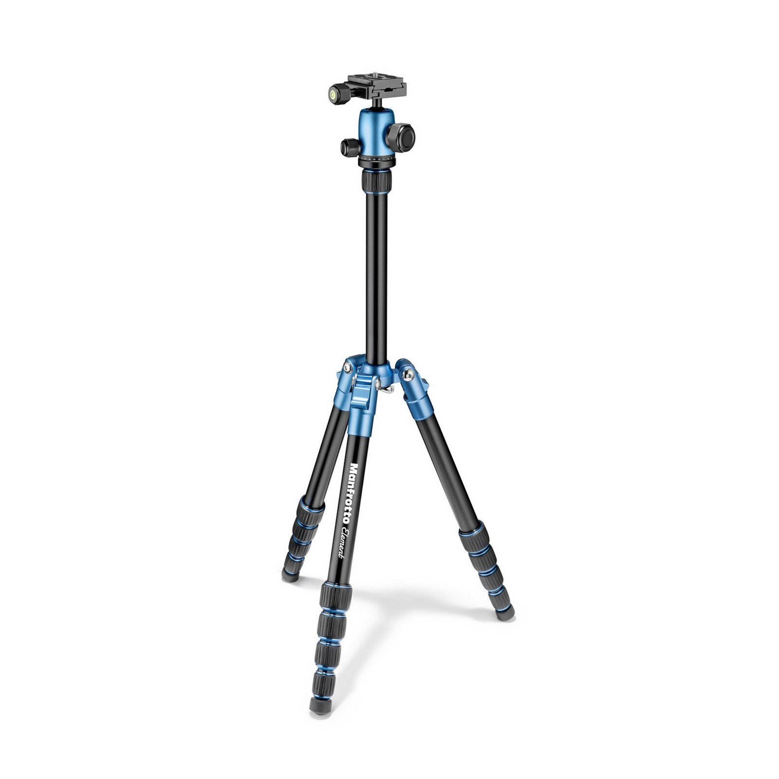 Manfrotto MKELEB5BL-BH | Lightweight Tripod with Ball Head Blue by Manfrotto