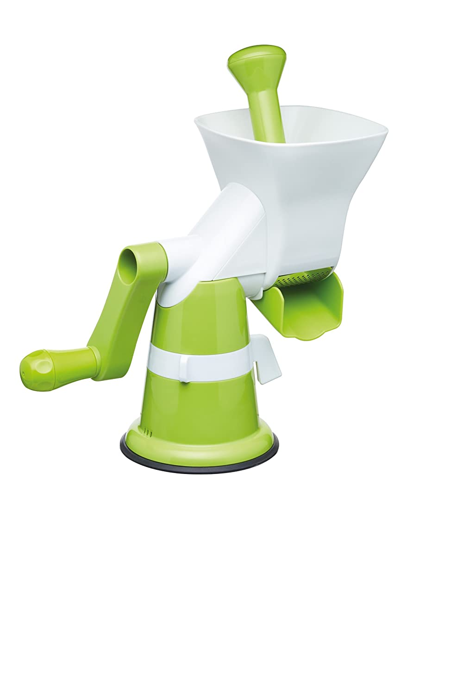 KitchenCraft Healthy Eating Manual Purée Machine / Baby Food Maker - White / Green Kitchen Craft KCHEPUREE