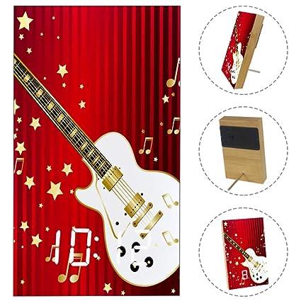 Amazon.com: LvShen Guitar Music Note Star Strip Red LED ...