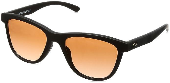 10fb0bee90177 Amazon.com  Oakley Women s Moonlighter Polarized Round Sunglasses Dark Ink  Fade 53 mm  Oakley  Clothing