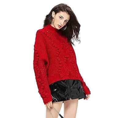 guess maglione rosso donna