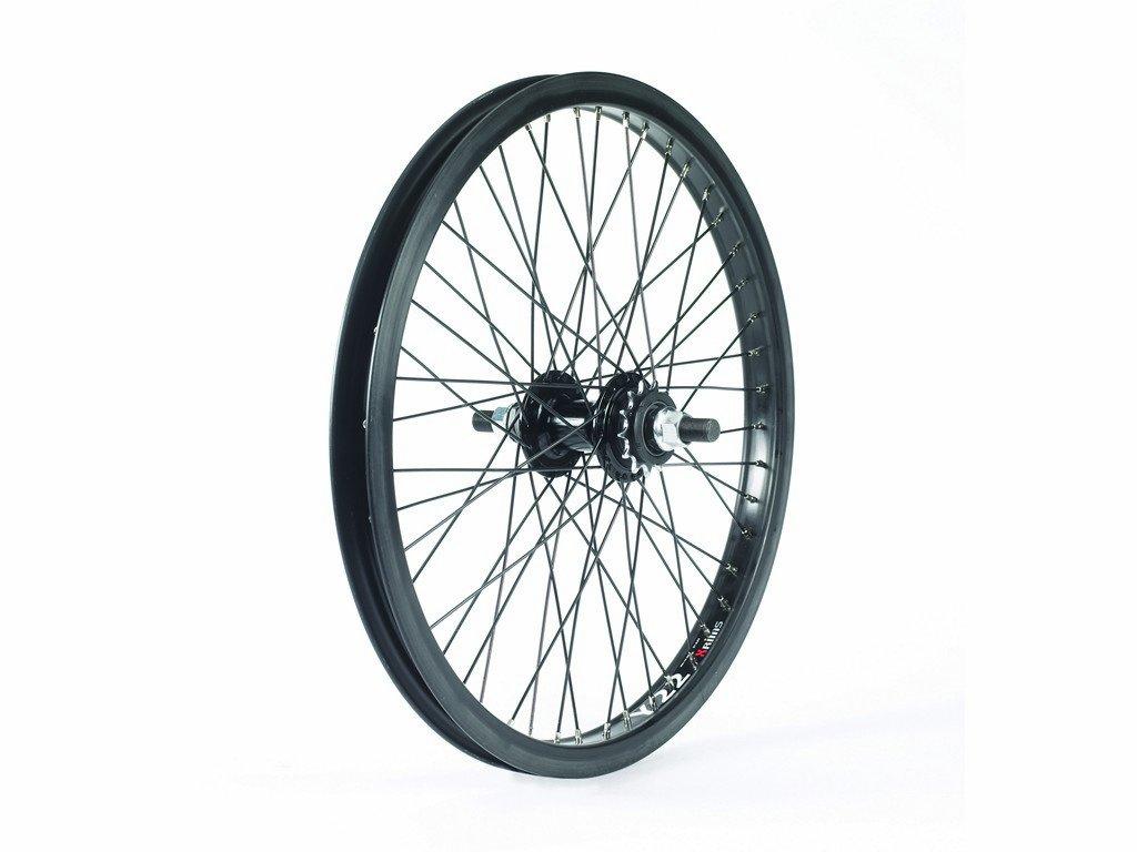 Black Diamondback DBX081F Front BMX Wheel