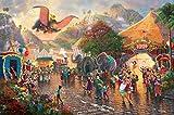 Ceaco Thomas Kinkade Collection Disney's Dumbo Jigsaw Puzzle (750 Piece)