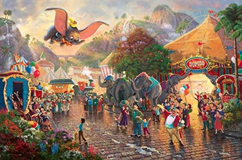 Ceaco Thomas Kinkade Collection Disneys Dumbo Jigsaw Puzzle (750 Piece)