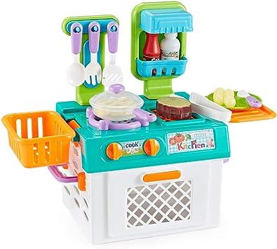 Think Gizmos Giochi Di Imitazione Per Bambini Set Di Giochi Per Ragazzi E Ragazze Set Cucina Amazon It Giochi E Giocattoli