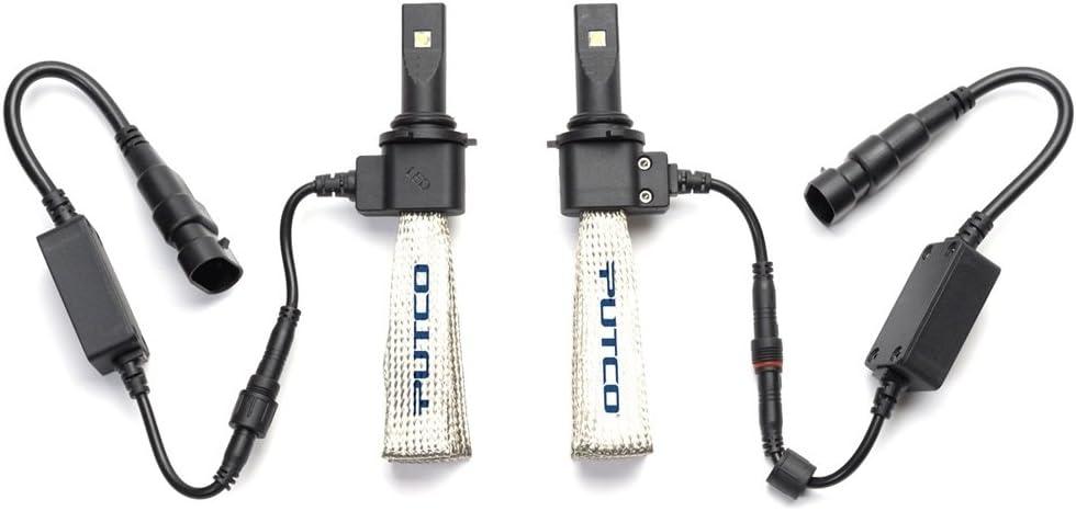 Putco 279006 Nite-Lux Fanless 9006 LED Headlight Conversion Kit 2 Bulbs