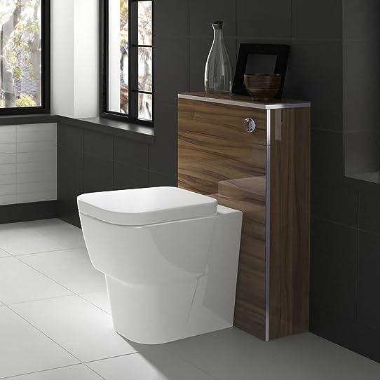 Toilette Complet Wc Design Moderne Avec Coffrage Meuble Réservoir