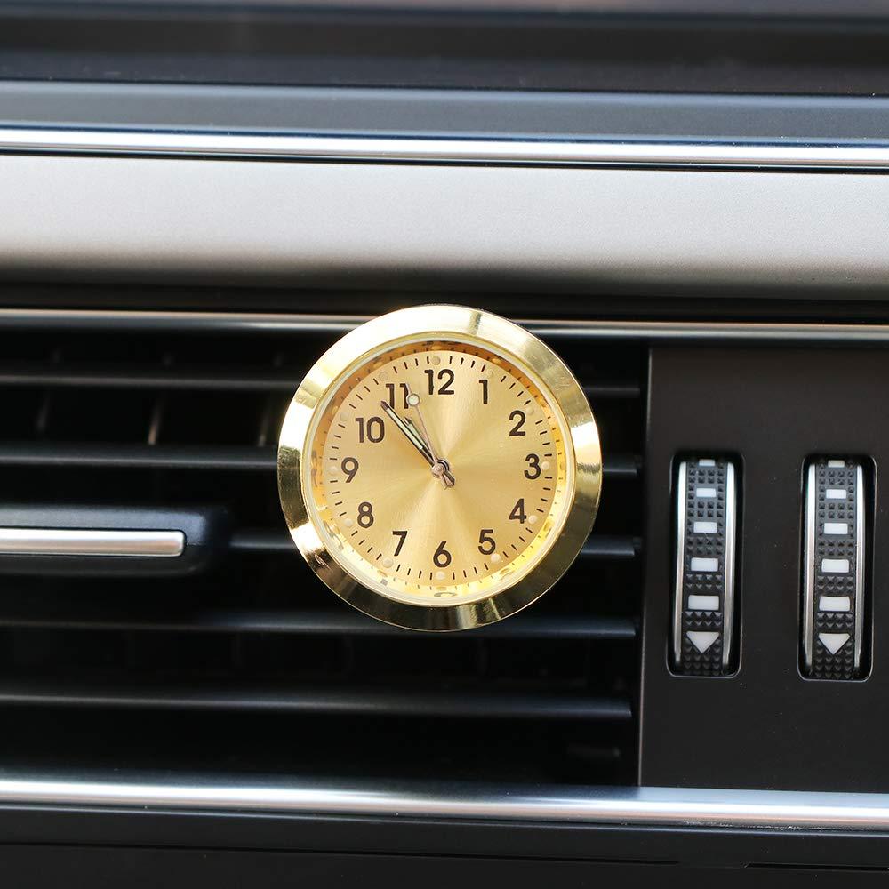 Mini Car Orologio al quarzo Orologio tempo auto pannello strumenti di decorazione forniture Blu Winbang Auto orologi