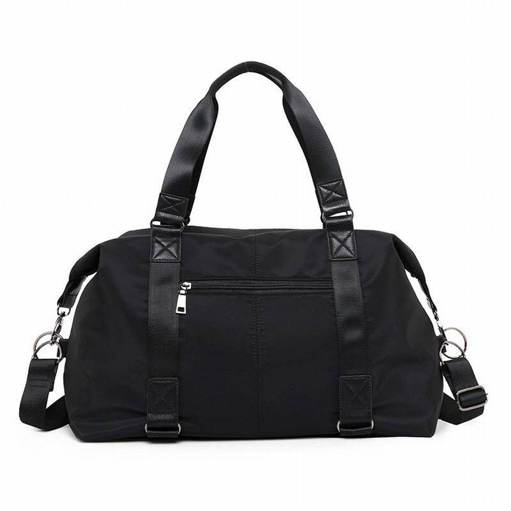 Damen Reisetasche Light Shoulder Umhängetasche Wearable Große Kapazität Wasserdicht Nylon Canvas Tasche, Damen Handtasche, Umhängetasche, Querschnitt Quadrat, Reißverschluss, Naht, CROTential Tasche, Handytas