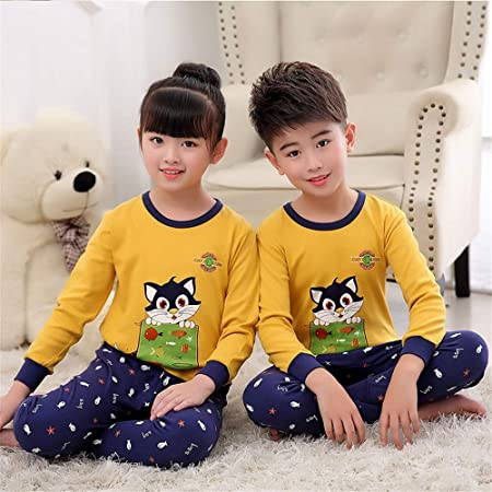 2 x Bambini Invernale Termico Caldo Intimo