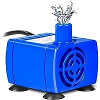YHG Bomba de Agua Sumergible para Fuente de Mascotas, Reemplazo Potente de la Bomba de Fuente para Mascotas de 12V…