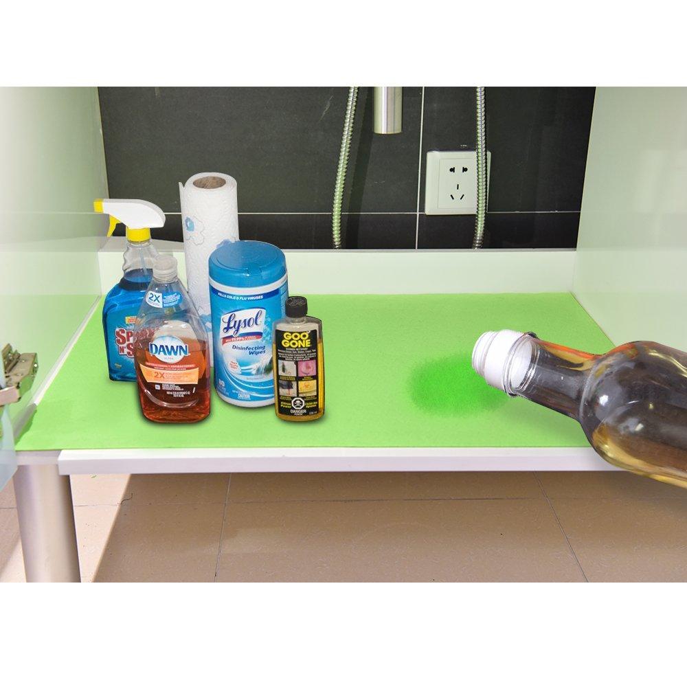 KALASONEER Garage Floor Mat (6.7' x 6.7'), Absorbent/Waterproof / Lightweight/Washable Garage & Shop Parking Mats