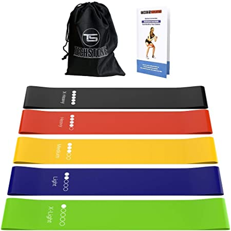 Resistance Bands for Training Set for Men and Women Fitness Equipment Pack of 5