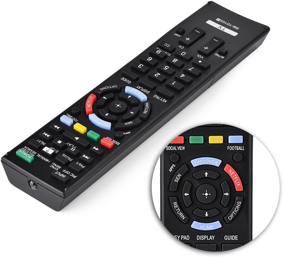 TV Controller,TV Remote Replacement Audio Remote Replacement For ...