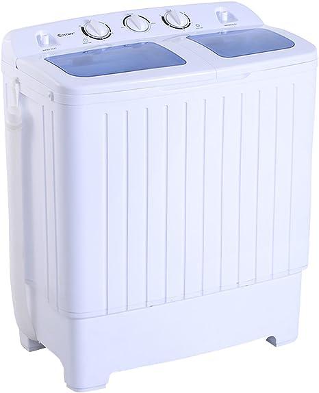 4,5 Kg lavadora secadora duales Cubo: Amazon.es: Grandes ...