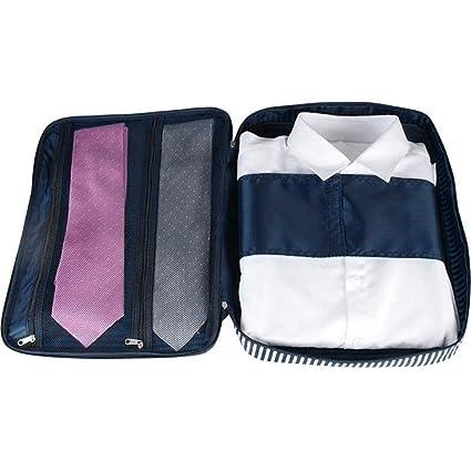 Guizen Organizador Bolsas de Viaje para Camisa y Corbatas ...