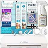 Silhouette CAMEO 3 Bluetooth Fabric Applique Bundle for Embroidery Machines Includes $59.99 Designer Plus Software and Terial Magic