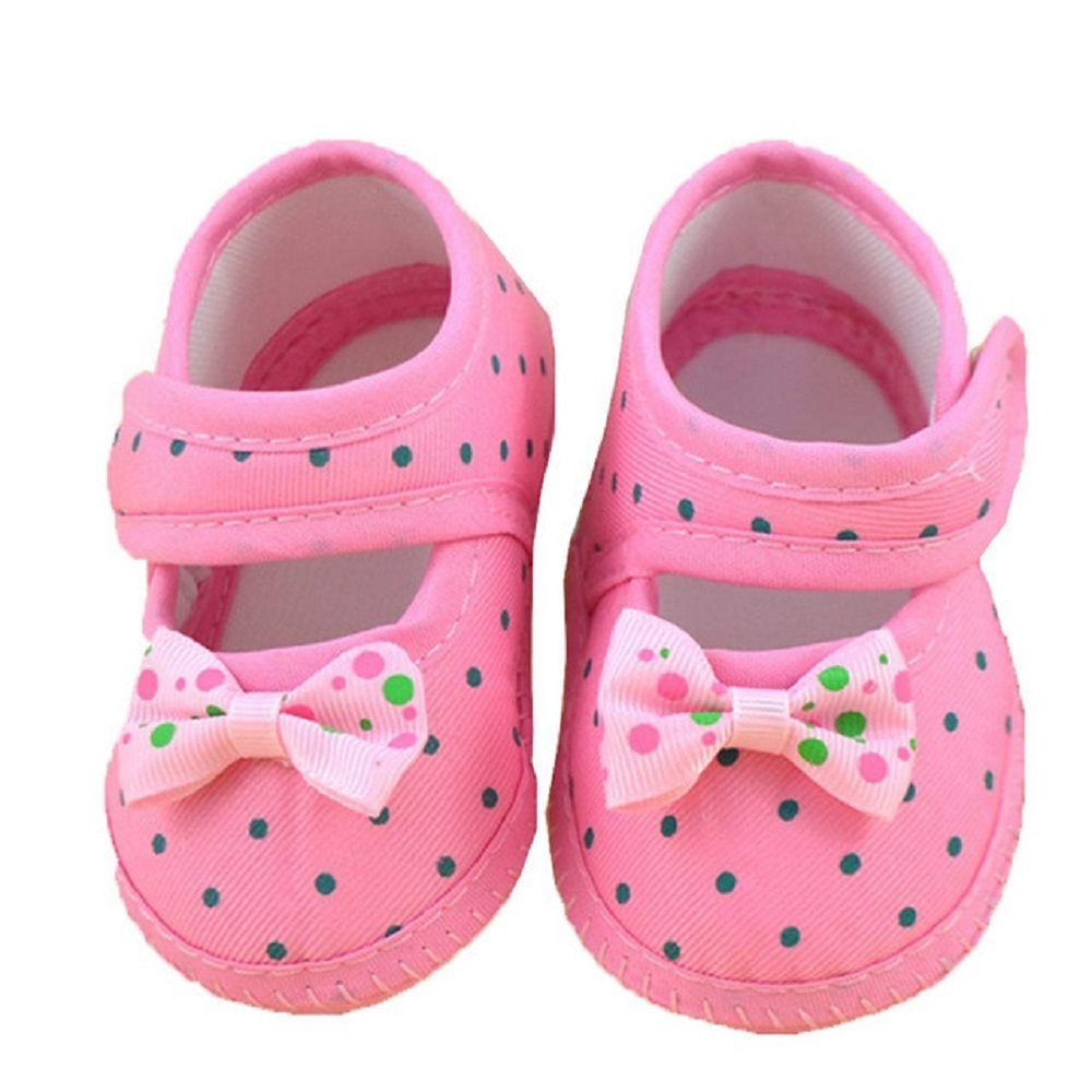Babys shop Baby Moccasin Booties for Newborn Babies Shoes Bowknot Soft Non-Slip Footwear Crib Shoes Toddler Prewalkers First Walk Boots