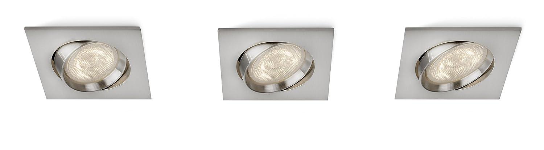 Philips Smart Spots Galileo LED Einbauspot, 3-flammig, matt chrom 590801716