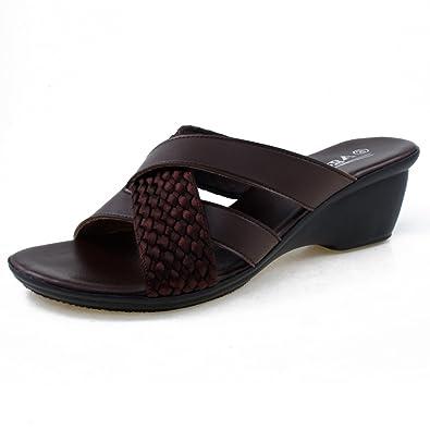 e46d46254bb1 Agape HOLDING-46 Lightweight Crisscross Wedge Sandal (5