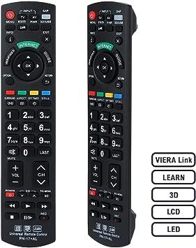 Alkia N2QAYB000504 Remote Control Compatible Replacement for Panasonic TV, Sub N2QAYB000673: Amazon.es: Electrónica
