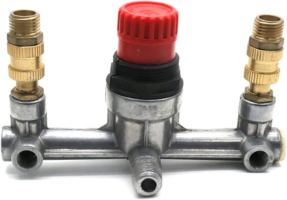 Outlet tube alloy air compressor switch pressure regulator valve fitting par OQF