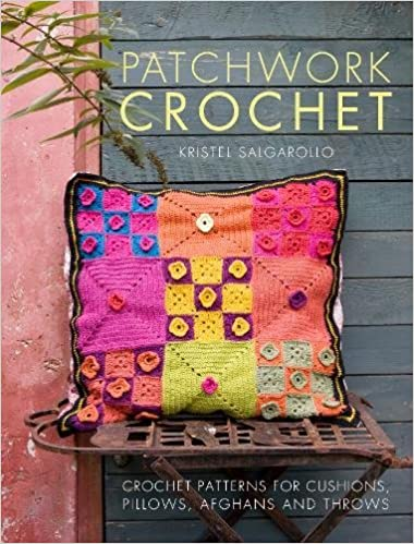 Patchwork Crochet Crochet Patterns For Cushions Pillows Afghans